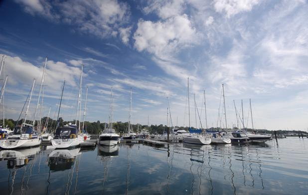 Marina panoramic