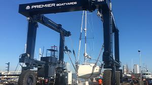 Boatyard Hoist