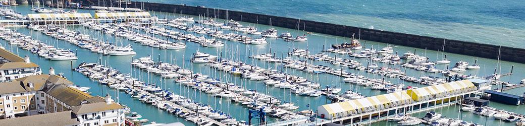 Brighton Marina, East Sussex