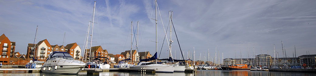 Sovereign Harbour Marina, Eastbourne, East Sussex