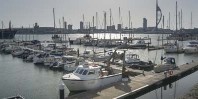 Gosport Marina, Portsmouth Harbour