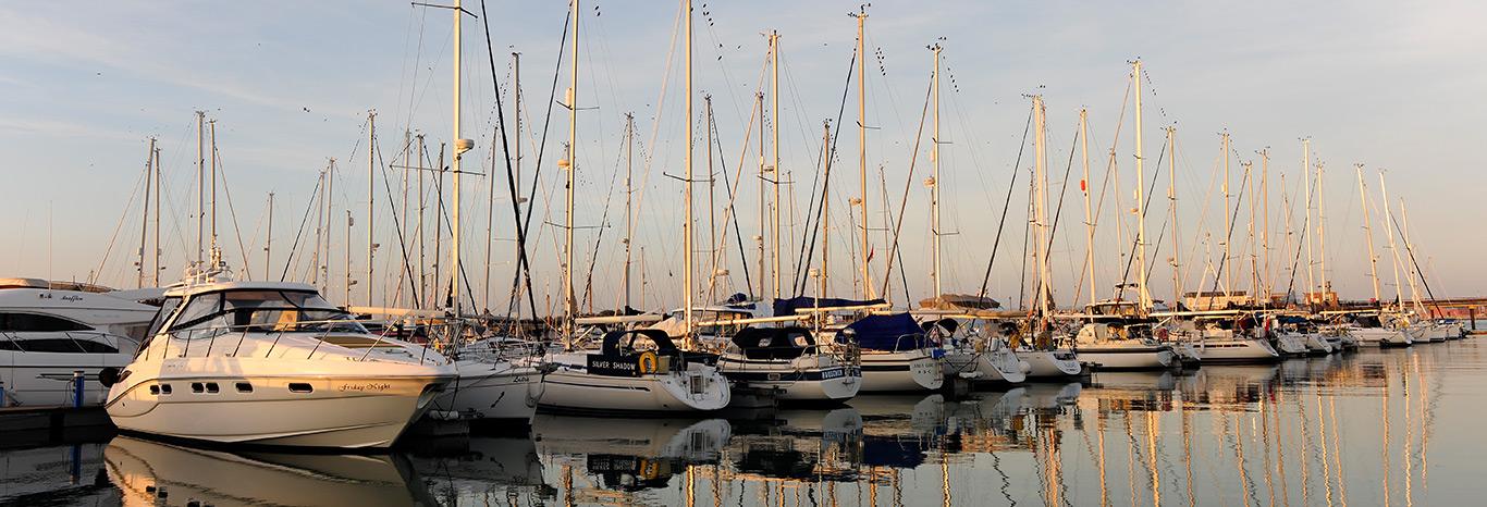 View of Gosport Marina