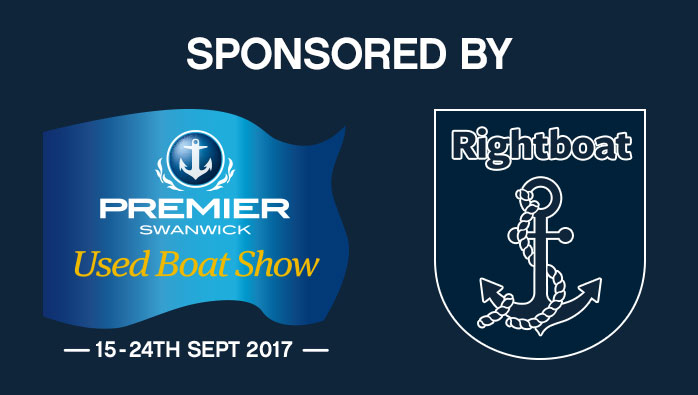 Swanwick Marina Used Boat Show 2017 sponsored by Rightboat.com