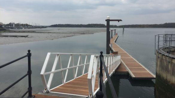Chichester Marina Pontoon Re-decking 2019