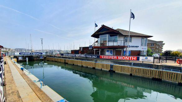 Port Solent New Lock Pontoons 2019