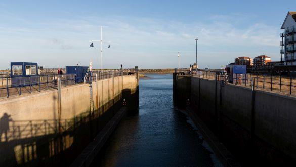 Sovereign Harbour Marina Lock Shutdown