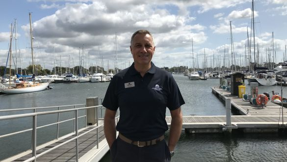 Chichester Marina Manager Paul Cook