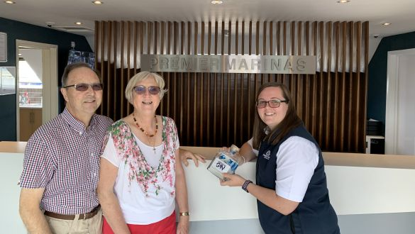 Swanwick Marina July Visitor Incentive Scheme Winner