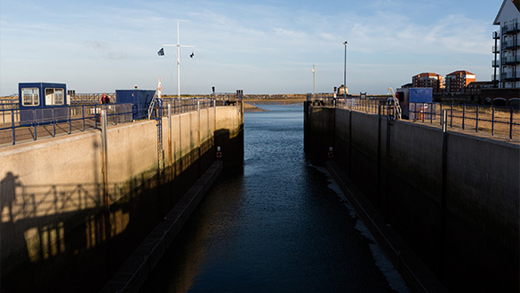 Sovereign Harbour Marina Lock | Premier Marinas