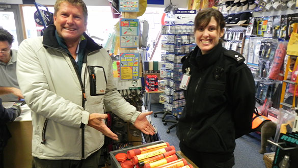 Flares Disposal dates with Premier Marinas 2020