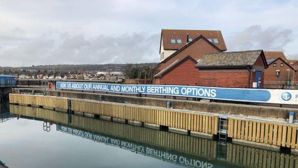Port Solent Marina Lock | Premier Marinas