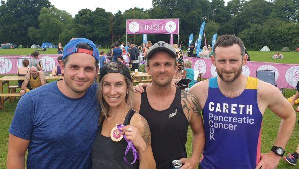 Brighton Marina Team Complete Half Marathon