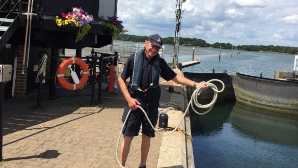 Chichester Marina Team Offer Extra Lock Support