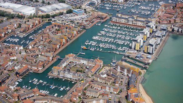 Eastbourne Marina Aerial | Premier Marinas