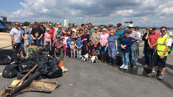 Southsea Marina Beach Clean Up