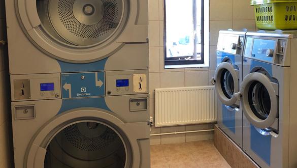 Laundry Facilities at Falmouth Marina