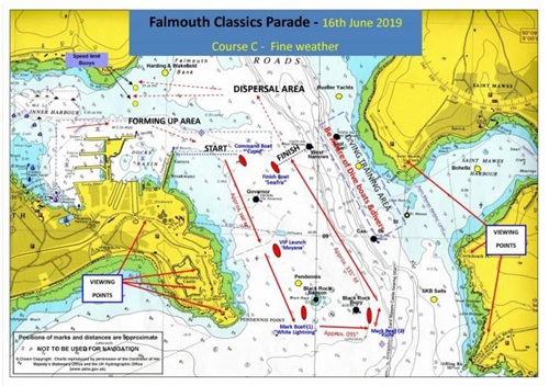 Falmouth Notice to Mariners 14 of 2019
