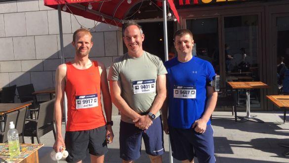 Gosport Marina Managers Complete Southampton Marathon