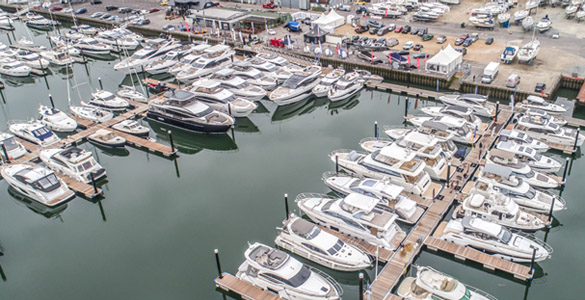The British Motor Yacht Show 2019