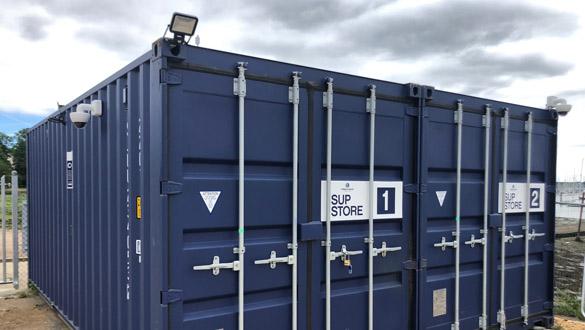 Swanwick Marina Stand-up Paddle Board Storage