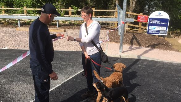 New Dart Valley Trail Car Park Opens