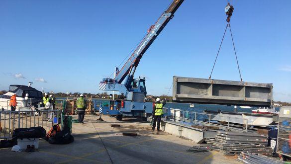Southsea Marinas winter works