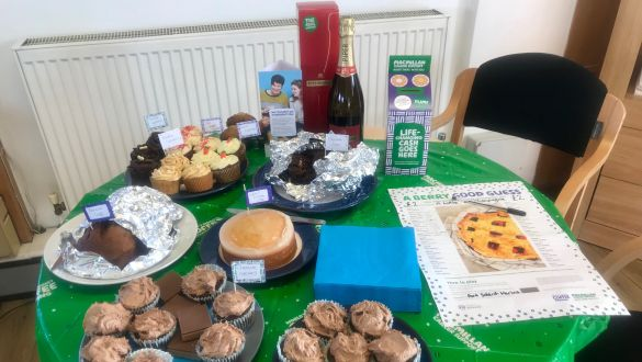 Port Solent hosted a MacMillan Coffee Morning in September