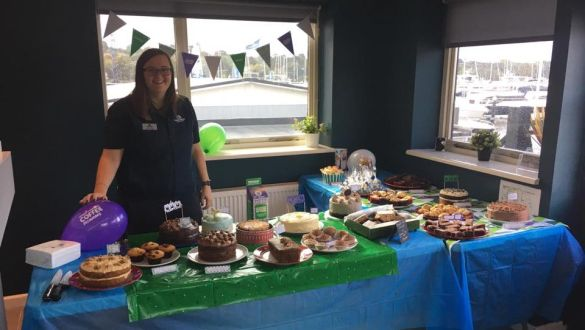 Swanwick Marina | Macmillan Coffee Morning | Premier Marinas