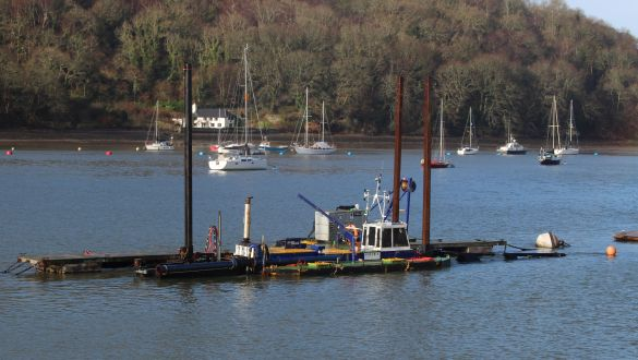 Noss On Dart Marina Dredging Update