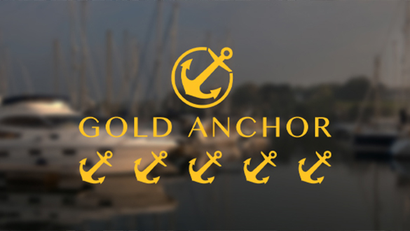 Falmouth Marina retains 5 Gold Anchors Accreditation