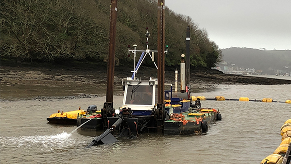 Noss on Dart Dredging