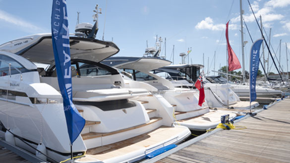 The British Motor Yacht Show 2021
