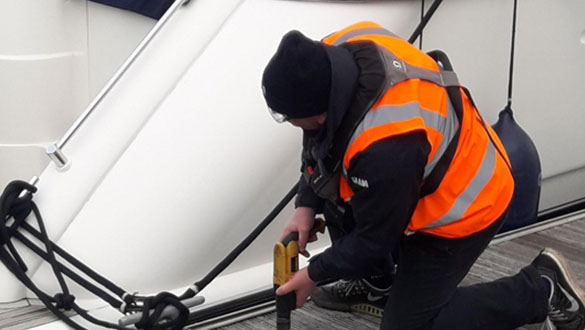 2021 Maintenance at Chichester Marina