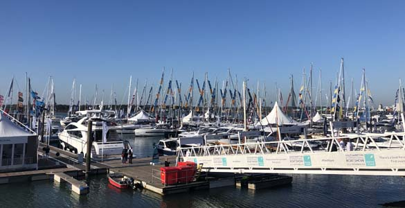 Stand at Southampton Boat Show