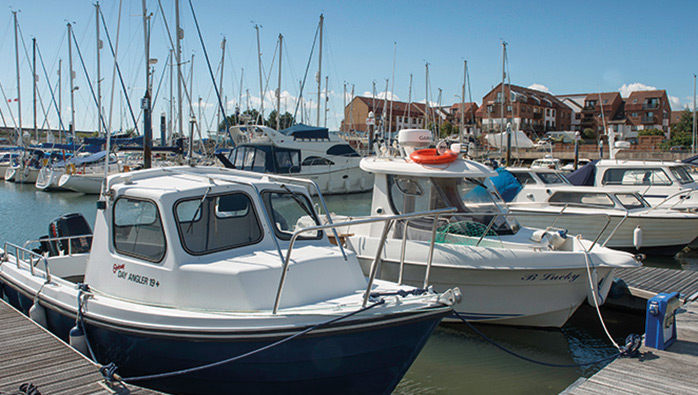 Southsea Fishing Marina Show