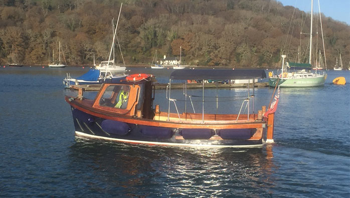 Noss on Dart Marina acquires Sandpiper II Water Taxi