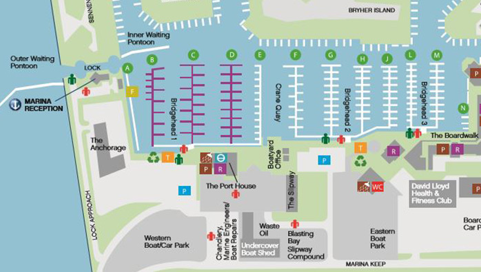 Pontoon Reconfiguration Plans at Port Solent Marina