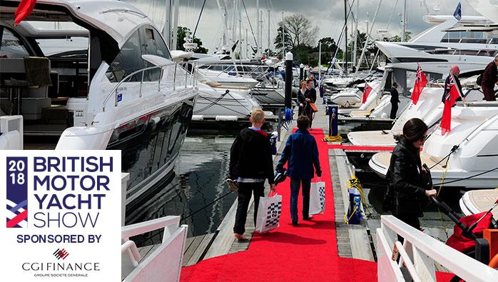 British Motor Yacht Show 2018 at Swanwick Marina