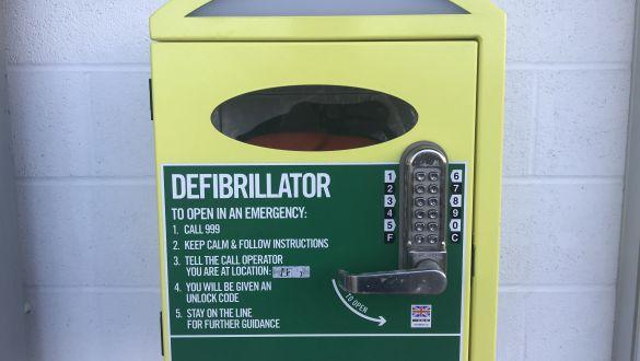 Sovereign Harbour Berth Holders Association Defibrillator Training