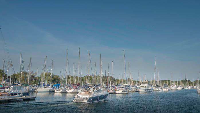 Cruising At Chichester Marina