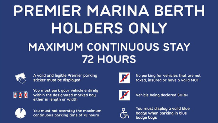 Car Parking Changes at Brighton Marina