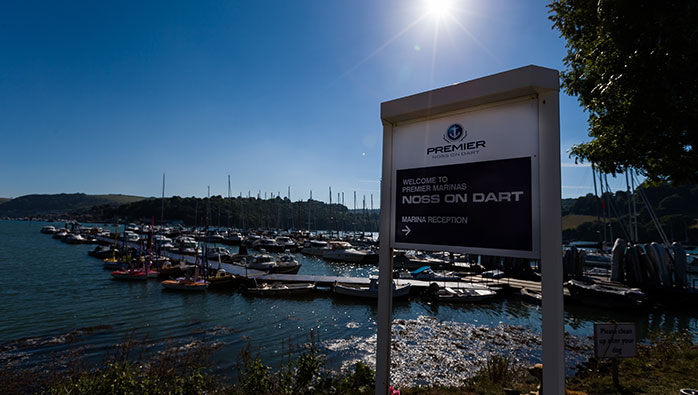 Ablutions and Pontoons to be Smartened for the Upcoming Season at Noss on Dart Marina