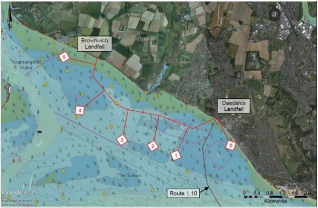 Figure 1 - Survey Area - QHM Notice to Marina 40 of 2018