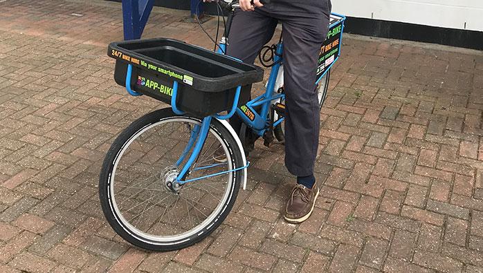 App Bikes at Eastbourne Marina