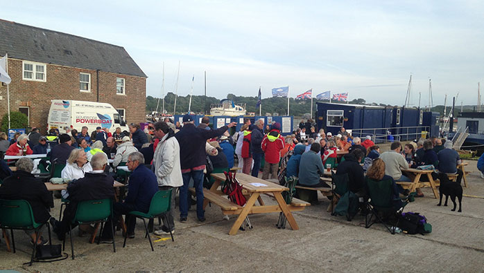 Southsea Marina's Berth Holders' Party