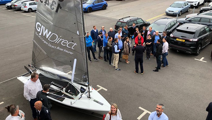 GJW Direct unveil their new office at Swanwick Marina
