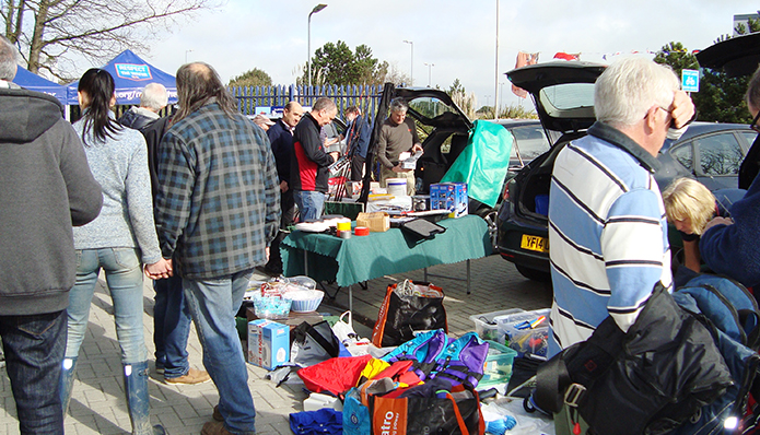Sovereign Harbour Boat Jumble