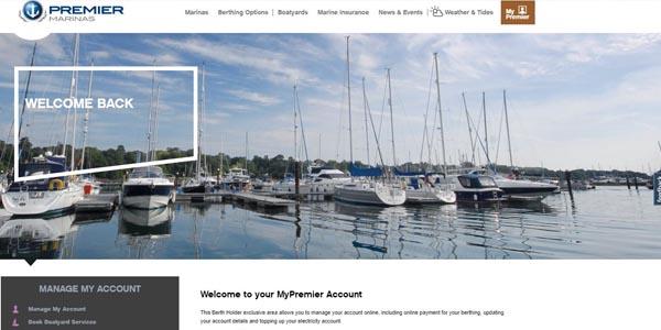 MyPremier Screen