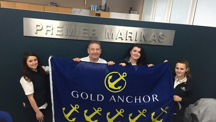 5 Gold Anchors for Brighton Marina