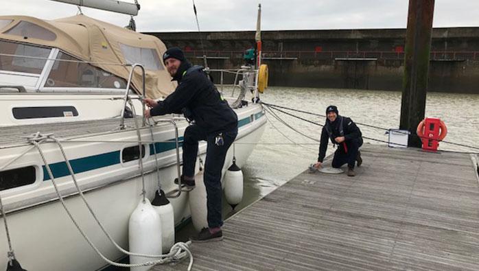Brighton Marina Goes the Extra Mile on High Wind Checks